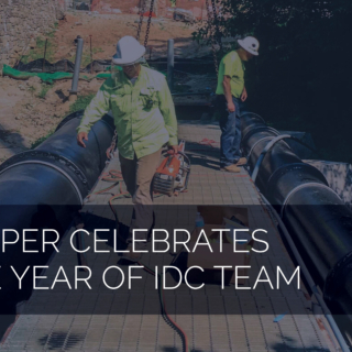 Harper Celebrates One Year of IDC Team